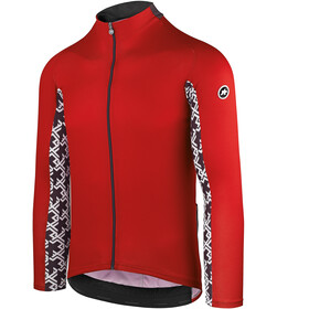 assos Mille GT Maillot Manga Larga Verano Hombre, national red